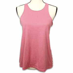 Adidas Performer pink open back tank top